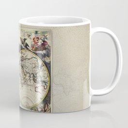 World Old Map Coffee Mug