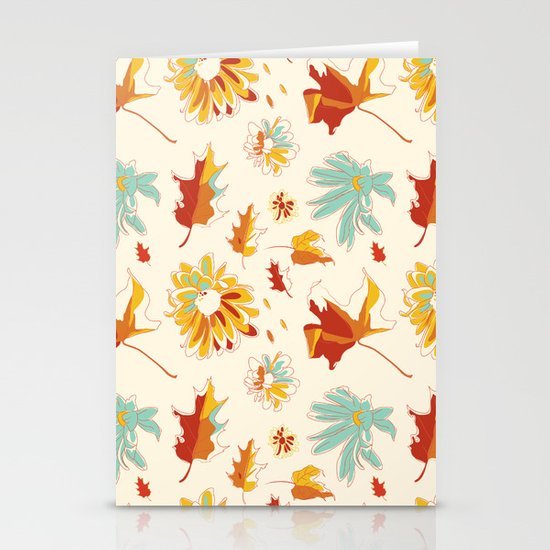Autumn/Fall Stationery Cards