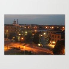 Holland, Michigan At Night Canvas Print