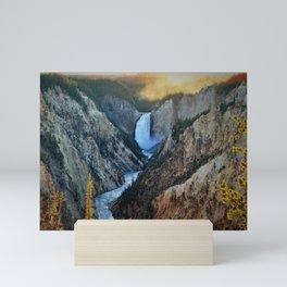 Canyon Falls Mini Art Print