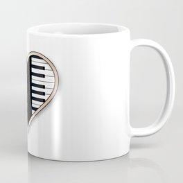Love Piano Coffee Mug