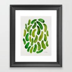 Pickles Framed Art Print