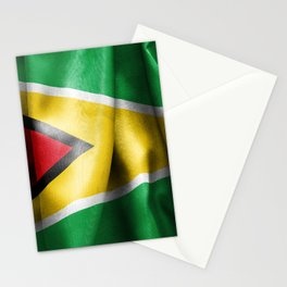Guyana Flag Stationery Cards