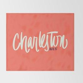 Charleston, SC Throw Blanket