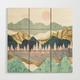 Summer Vista Wood Wall Art