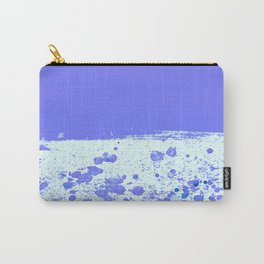 Ink Drop Blue Carry-All Pouch