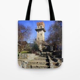 Ancient watchtower. Tote Bag