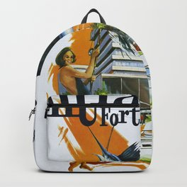 Vintage poster - Miami and Fort Lauderdale Backpack