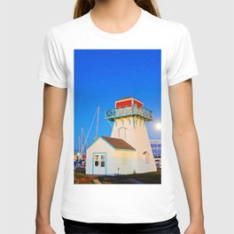 Summerside Harbour lighthouse T-shirt
