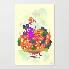 CIVICS 1 Canvas Print