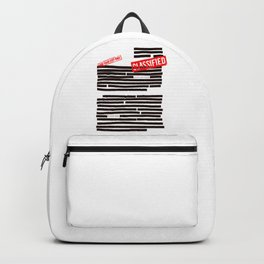 Censored text (Classified information) Backpack