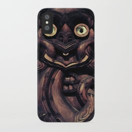 NEW ZEALAND CARVING iPhone Case