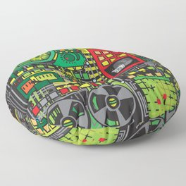 DOES NOT COMPUTE Floor Pillow