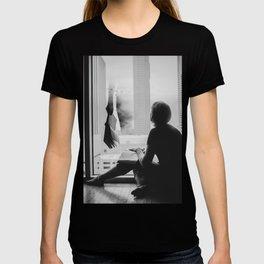 Reading Poe T-shirt