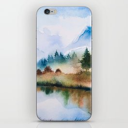 Winter scenery #16 iPhone Skin