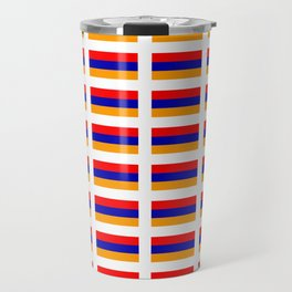 Flag of Armenia- Armenian,Հայաստան,Yerevan, Ararat Travel Mug