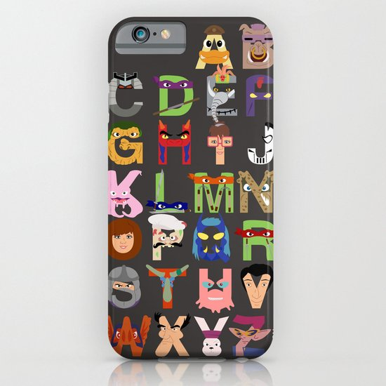 TMNT ABCs iPhone & iPod Case
