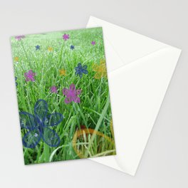 Champ d'herbe Stationery Cards