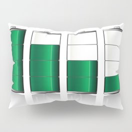 Battery Charge Indicator Pillow Sham