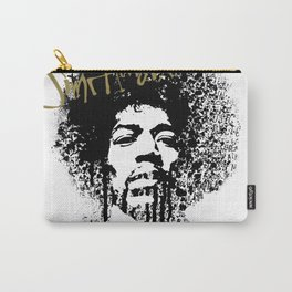 Jimi Hendrix / ink Carry-All Pouch