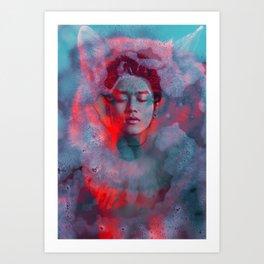 Peaceful Storm  Art Print