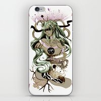 tarot iPhone & iPod Skins featuring Star Tarot by A Hymn To Humanity