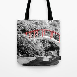 Red Bridge Tote Bag