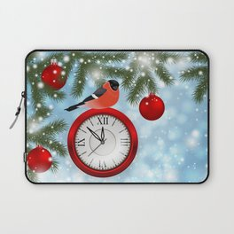 Christmas or New Year decoration Laptop Sleeve