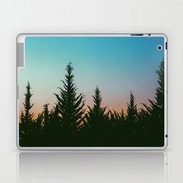 TREES - SUNSET - SUNRISE - SKY - COLOR - FOREST - PHOTOGRAPHY Laptop & iPad Skin