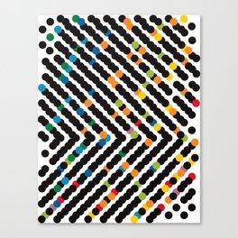 ARROW - dots Canvas Print