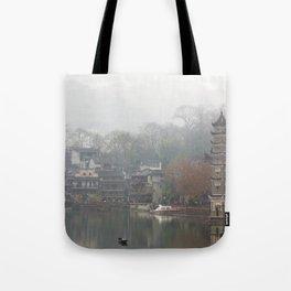 China's ancient town Tote Bag