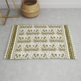 Singing Bird Collection - Sand Scarf design Rug