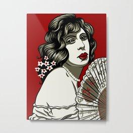 Lili Elbe Metal Print