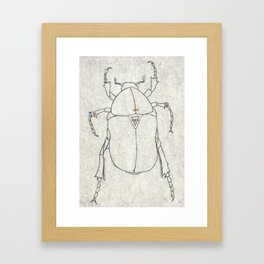 Insecto 02 Framed Art Print