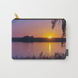 Beautiful sunset over lake #2 Carry-All Pouch