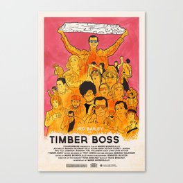 TIMBER BOSS Canvas Print