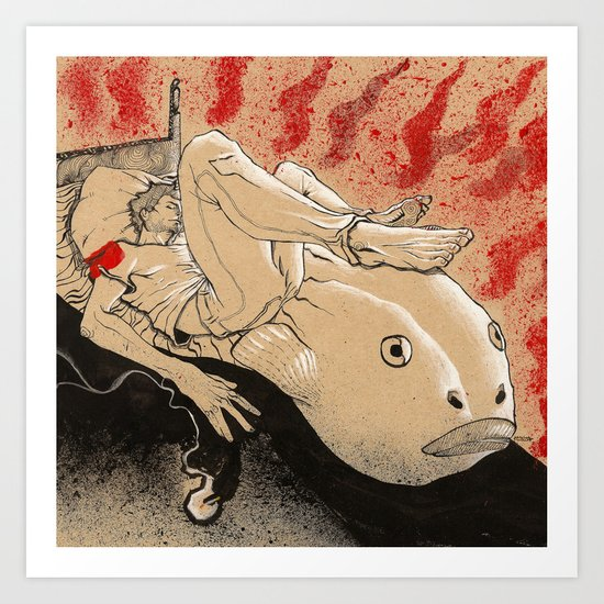 Fish Dream Art Print