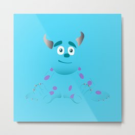 Baby Sulley Metal Print