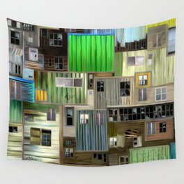 Sound of the favelas Wall Tapestry
