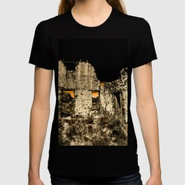 Sunset Behind Dripping Springs Ranch Ruins, New Mexico T-shirt