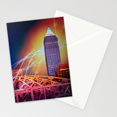 Moonbeams Over The Bridge Stationery Cards