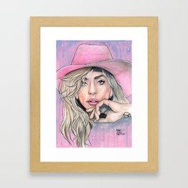JOANNE by nickdrawart Framed Art Print