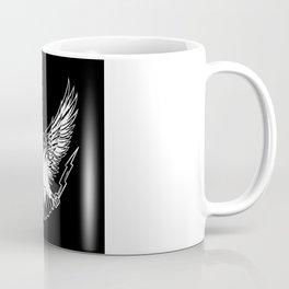 Bald Eagle With Lightnings Coffee Mug