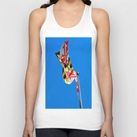 maryland Tank Tops featuring Maryland Pride by Kelsey Hunt