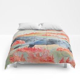 Indian Paintbrush Dakota Horse Comforters
