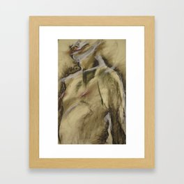 Klooster Series: Male Nude #107 Framed Art Print