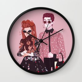 weirdos Wall Clock