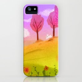 Spring Breeze iPhone Case