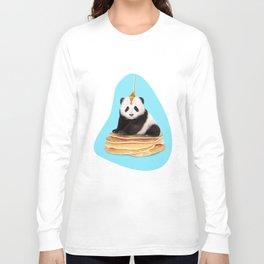 PANCAKE PANDA Long Sleeve T-shirt