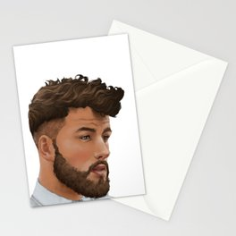 Portrait 09 Stationery Cards